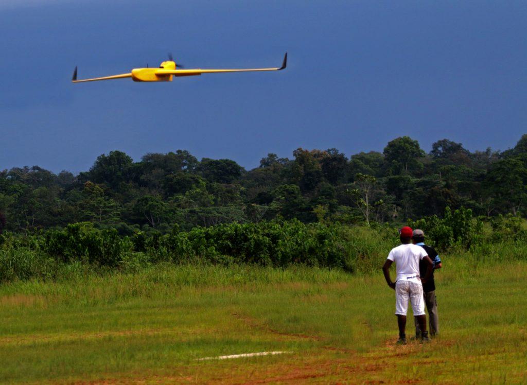 drone gabon