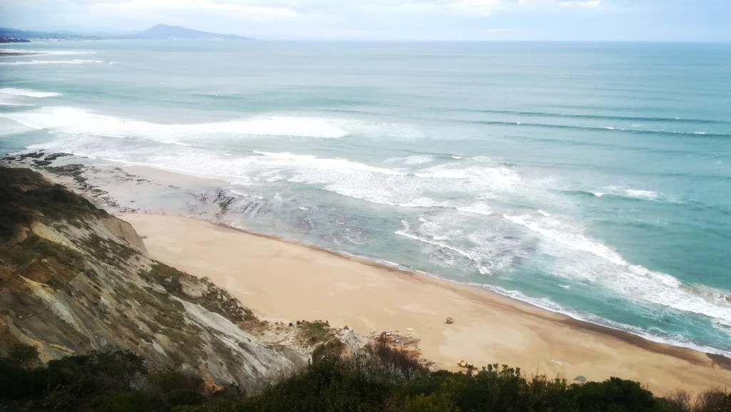 plage bidard erosion cotière