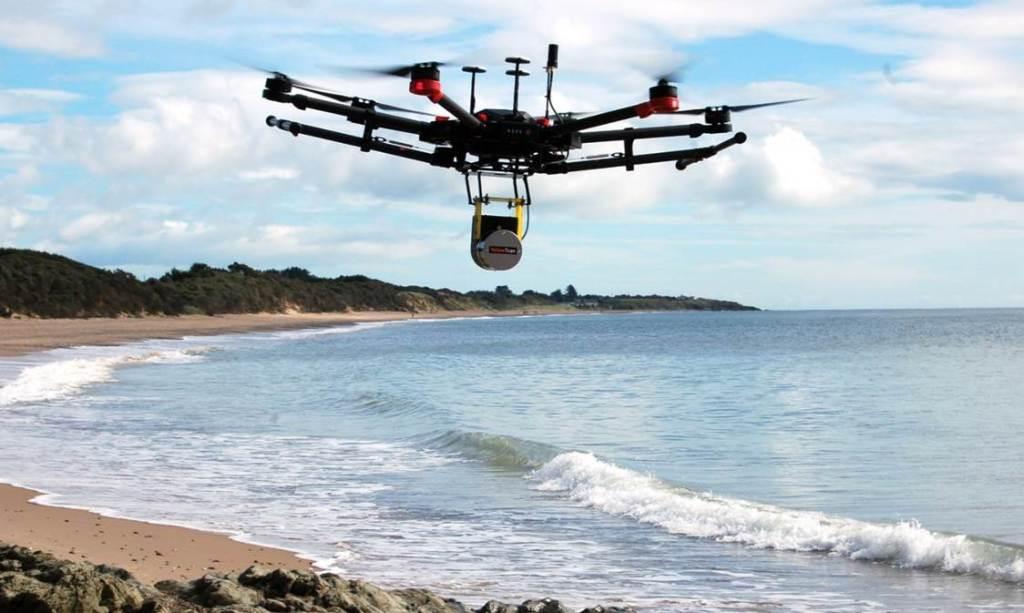 Drone M600 + Scanner Lidar Vx-20