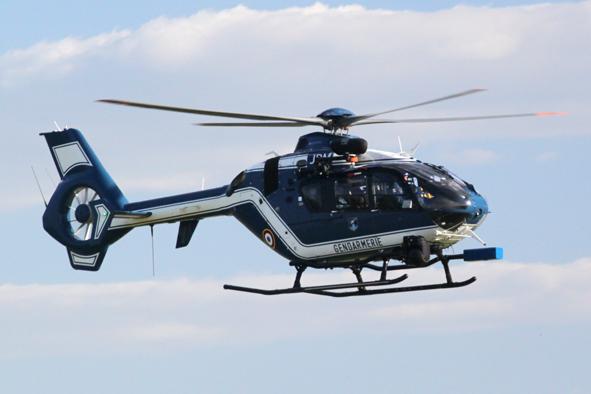 helicoptère gendarmerie equipé de SC2