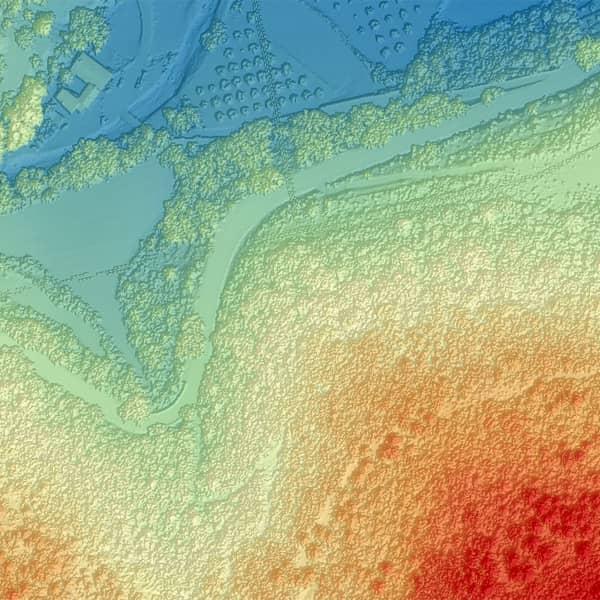 modele numérique de surface