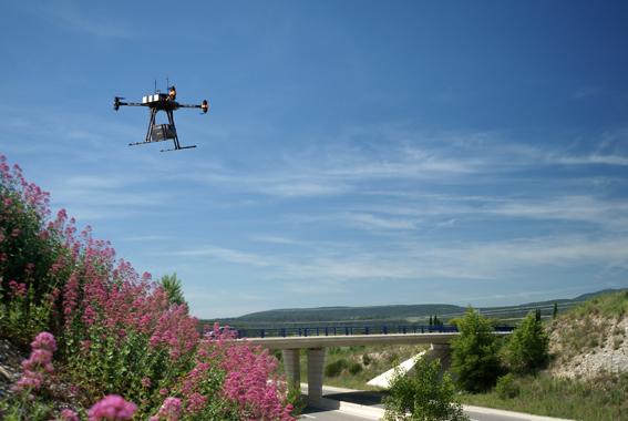 Drone talveg
